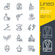 Lineo Editable Stroke - SPA and Beauty line icons