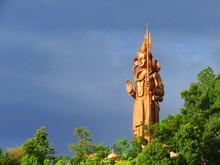 World Tallest Shiva Statue, Kailashnath Mahadev Statue Situated In Sanga Nepal.world's Tallest Shiva Statue.