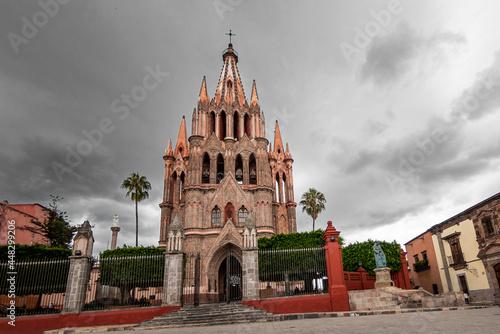 Billede på lærred Parroquia de San Miguel Arcángel