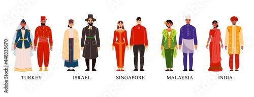 Asian National Clothes Set
