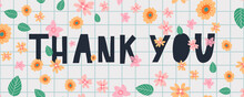 A Greeting Card Template With Floral Decoration Letter