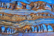 Background Of Rough Rocky Formation