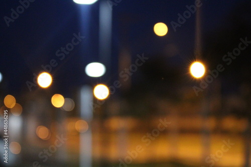 Fotografía Desfoque das luzes