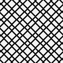 Waggle Seamless Pattern And White Background. Diagonal Striped Ornament.