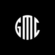 GMC Letter Logo Design. GMC Letter In Circle Shape. GMC Creative Three Letter Logo. Logo With Three Letters. GMC Circle Logo. GMC Letter Vector Design Logo