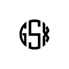 GSX Letter Logo Design. GSX Letter In Circle Shape. GSX Creative Three Letter Logo. Logo With Three Letters. GSX Circle Logo. GSX Letter Vector Design Logo