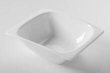 White Porcelain Dinner Salad Bowl