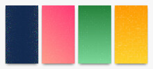 Abstract Gradient Geometric Background Of Squares