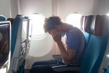 Passenger Feeling Bad In Airplane
