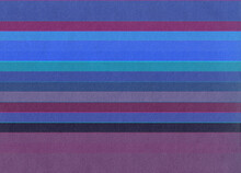 Horizontal Blue And Purple Stripes