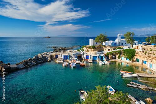 Slika na platnu Mandrakia village in Milos island, Greece