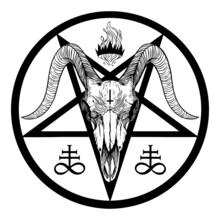 Baphomet Pentagramv