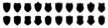 Shield Icons Collection Isolated. Shield Icon. Protect Shield Signs Vector. Shields Symbols Set.