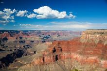 アメリカ・アリゾナ州にてグランドキャニオン国定公園のビュースポットでの眺望