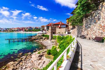 Sozopol, Bulgaria - Walled city of ancient Apollonia on Black Sea