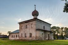 Church Of St. Nicholas The Wonderworker In Kargopol