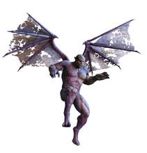 Gargoyle In Flight