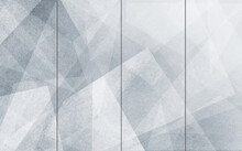 3d Illustration, Abstract Gray Geometric Background With Vertical Thin Lines.