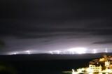 Fototapeta Na sufit - burza, chmury, noc