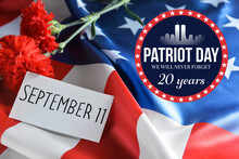 Remembrance Card For National Day Of Prayer And Remembrance For The Victims Of The Terrorist Attacks On September 11, 2001