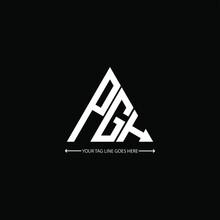 PGH Letter Logo Creative Design. PGH Unique Design