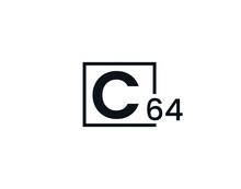 C64, 64C Initial Letter Logo