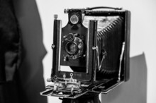 A Vintage Box Photo Camera