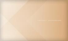 Soft Golden Geometric Background. Modern Line Stripes Curve Abstract Presentation Background. Luxury Paper Cut Background. Abstract Decoration, Golden Pattern, Halftone Gradients.
