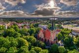 Fototapeta Na sufit - Kościół garnizonowy Matki Bożej Królowej Polski - Olsztyn
