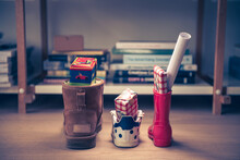 Sinterklaas Feest, Children Put Down The Shoe, Early In The Morning, Typical Dutch Party Tradition, Get Presents, Sweets And A Letter In Your Shoe, (put The Shoe Down) December 5, Santa Claus,