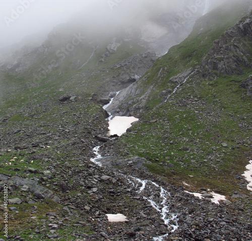 Iseltrail Hochgebirgs-Etappe: Clarahütte von Prägraten, leider bei Regen