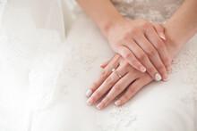Wedding Bride Hands