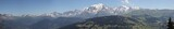 Fototapeta Do pokoju - massif du Mont Blanc
