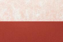 雲龍模様の和紙と赤茶色の紙