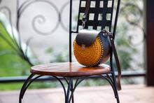 Women's Handbag On A Chair