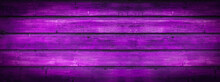 Abstract Grunge Rustic Old Purple Painted Colored Wooden Board Wall Table Floor Texture - Wood Background Banner Panorama.