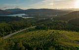 Fototapeta Kawa jest smaczna - Norway Nordland Summer Scenery