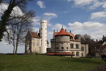 Castle Lichtenstein In Baden Wuerttemberg, Germany