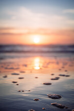 Hug Point Sunset. Original Public Domain Image From Wikimedia Commons
