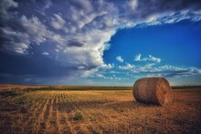 Big Bale In The Country
