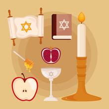 Seven Yom Kippur Icons