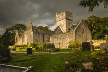 Muckross Abbey Ruin In Ireland