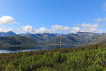 Sunny Summer Day At The Jack London Lake, Magadan Region, Russian Far East