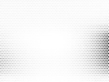 Abstract Modern Halftone Pattern Dotted Background