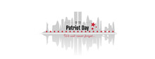 Patriot Day Illustration. We Will Never Forget.