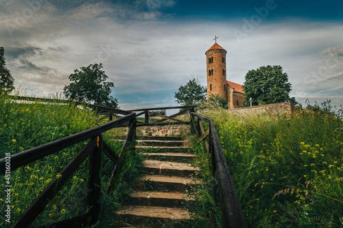 Fotografia Średniowieczny kościół