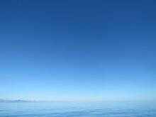 Orizzonte Con Mare E Cielo Azzurro
