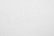 Seamless Texture Of White Cement Wall A Rough Surface, With Space For Text, For A Background..