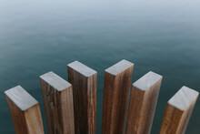 Wooden Planks Near Lake At Daytime