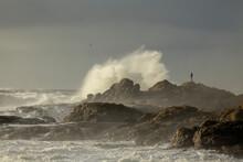 Stormy Rocky Coast